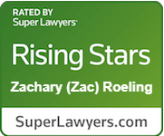 Zac Roeling, SuperLawyers Rising Star